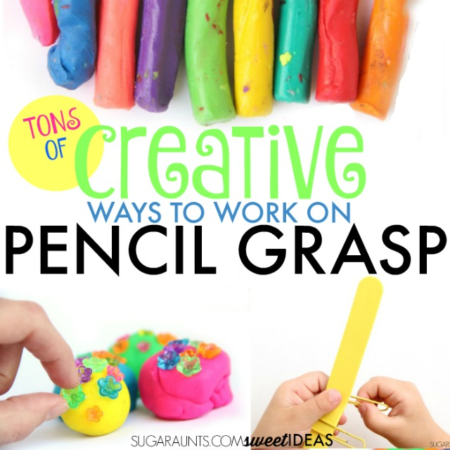 Creative Pencil Grasp Activities