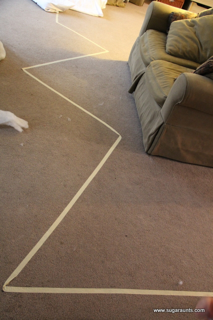 Use masking tape to make an obstacle course in the living room, with a polar bear theme or other animal walks.