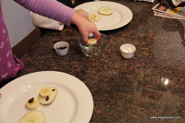 Polar bear snack idea for a polar bear theme with kids