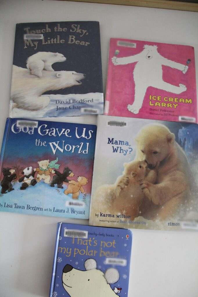 Polar bear books for kids