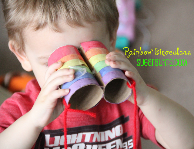 rainbow binoculars