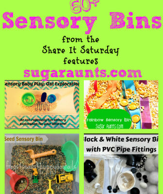Learning Through Play with 60+ Sensory Bins