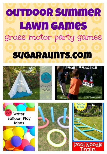 Outdoor Summer Lawn Games