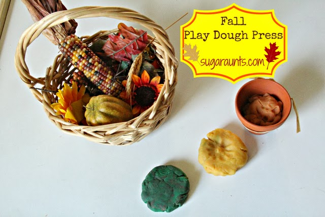 Fall Play Dough Press