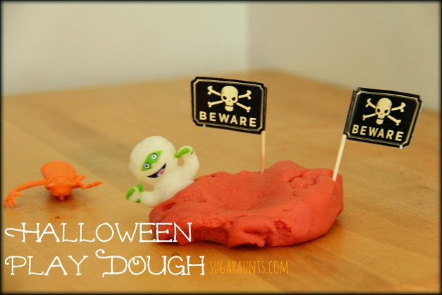 Halloween Play Dough