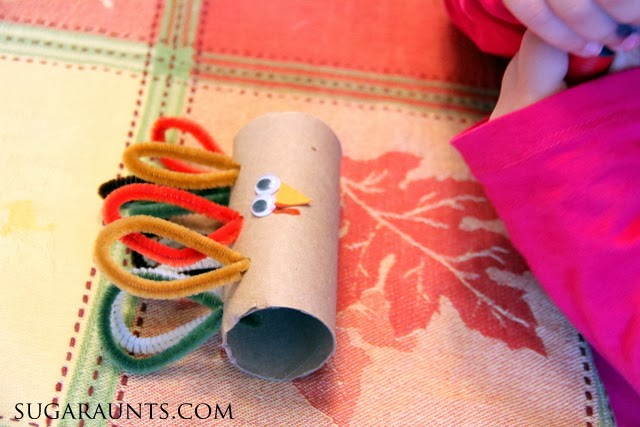 How cute is this toilet paper roll craft that turns into a paper roll napkin ring.