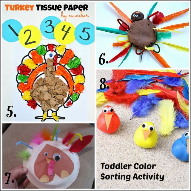 use these turkey activities in occupational therapy interventions to help kids with fine motor skills.