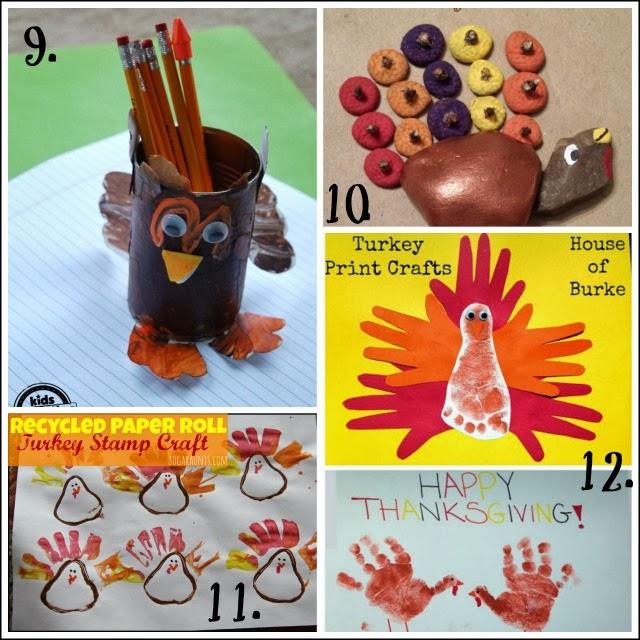Turkey activities that help kids develop motor skills.