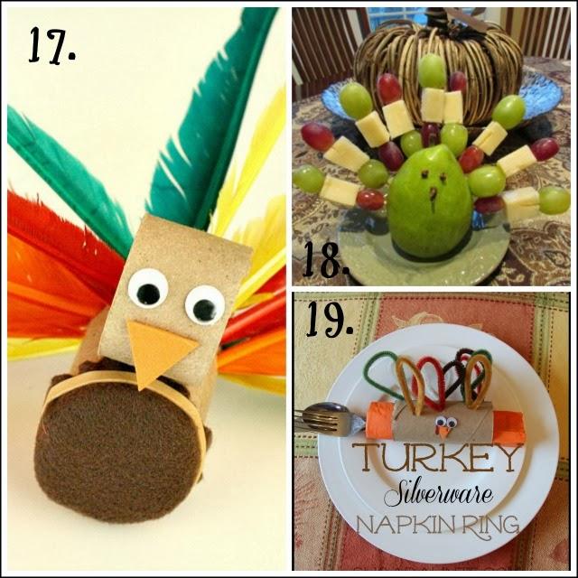 More turkey activities and Thanksgiving activities that help kids develop motor skills.