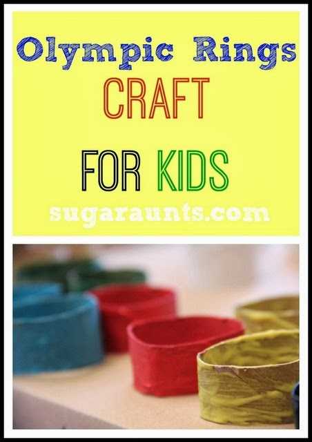 Olympic Rings Craft for Kids