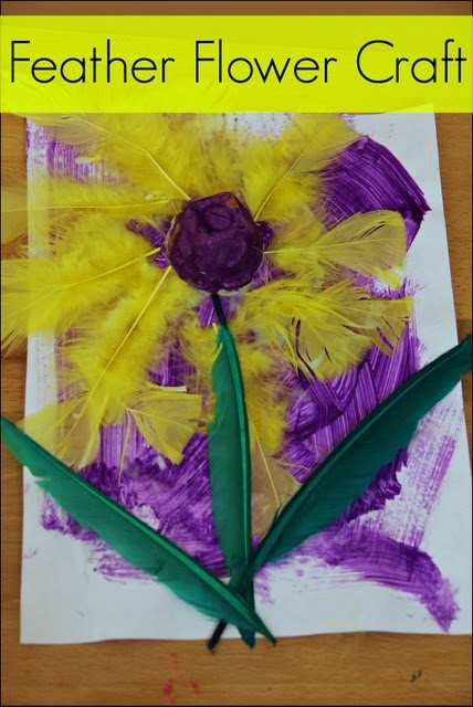 Easy flower craft for kids to make