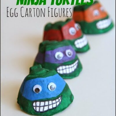 Teenage Mutant Ninja Turtle Craft