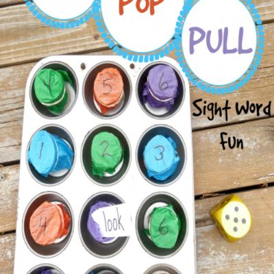 Super Fun Fine Motor Sight Word Game