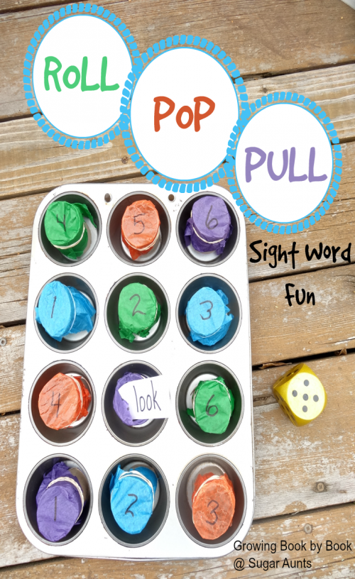 Use this sight word game to work on learning sight words and teaching sight words with hands on practice and fine motor work.