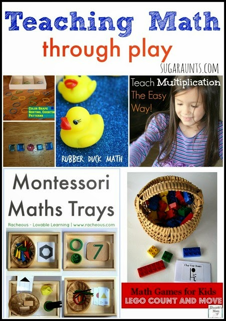 Playful ways to teach math