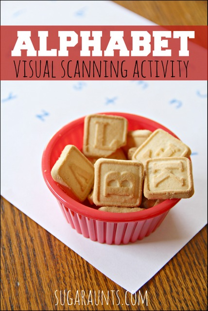 This is a fun eye hand coordination activity for kids. Bonus, it's a snack too!