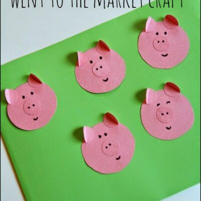 This Little Piggy Went to the Market craft
