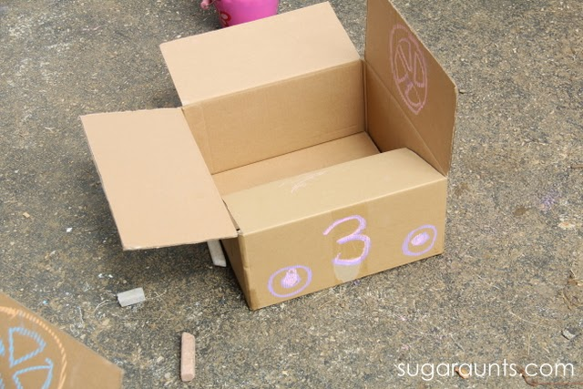 make a car for pretend play and outside fun.