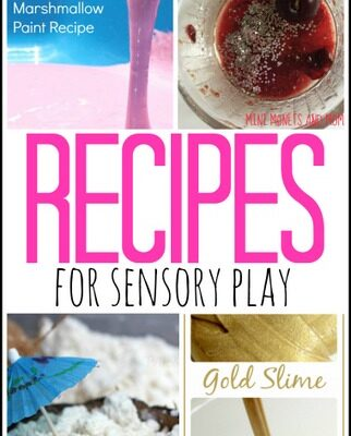 Recipes for Sensory Play