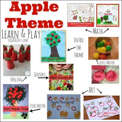 Apple Theme Activities
