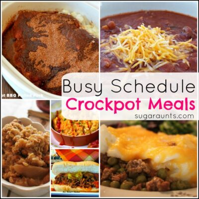 Crockpot Slow Cooker Meal Ideas Busy Families