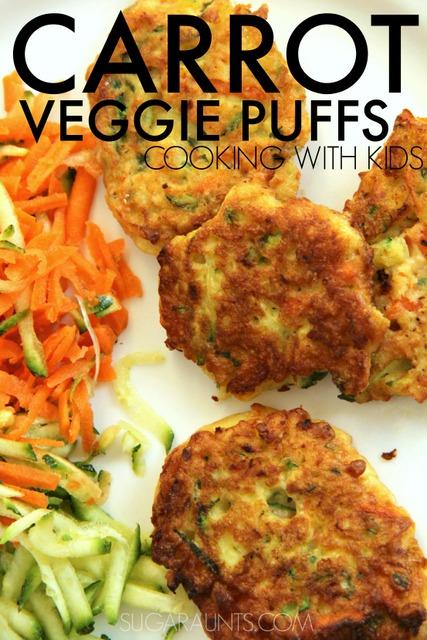 Carrot Veggie Puffs Recipe