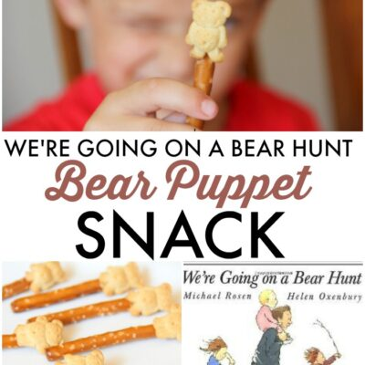 Bear Puppets We're Going On A Bear Hunt