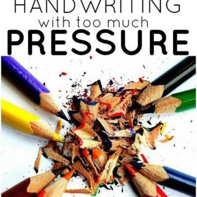 Pressing Too Hard When Writing Tips Proprioception