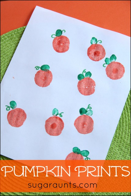 Pumpkin Thumbprint craft