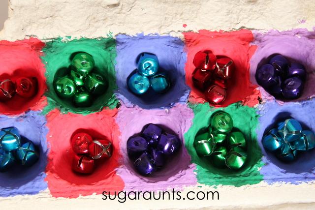 Christmas jingle bell game for kids