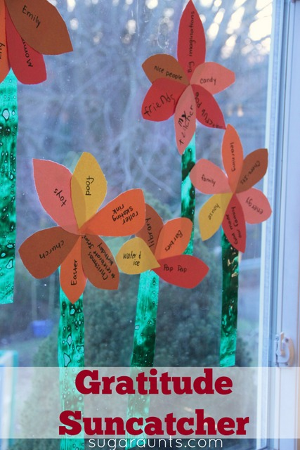 Gratitude Sun Catcher Craft