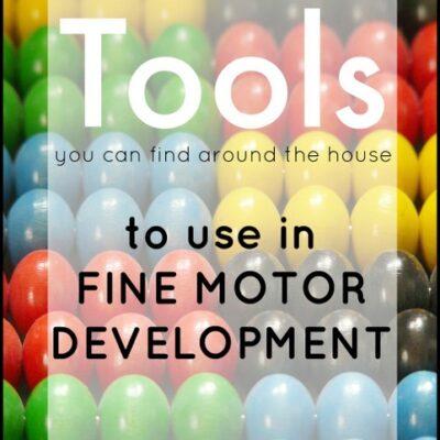 Tools in Fine Motor Skill Development