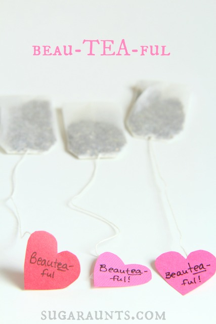 Valentines Day craft for kids to work on fine motor skills and scissor skills