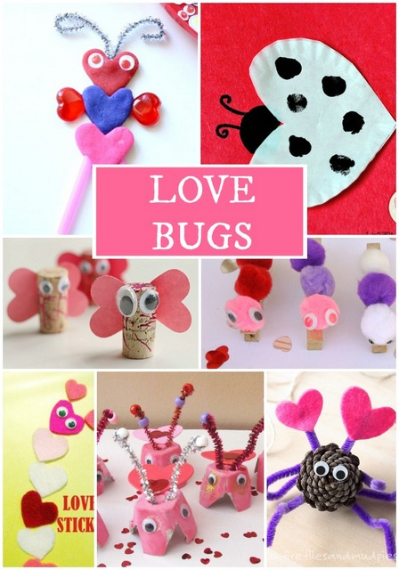 love bugs valentines day crafts