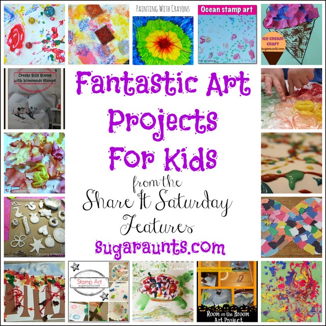 These sensory art activities are messy sensory play ideas and ones that incorporate the senses in art and creative experiences!