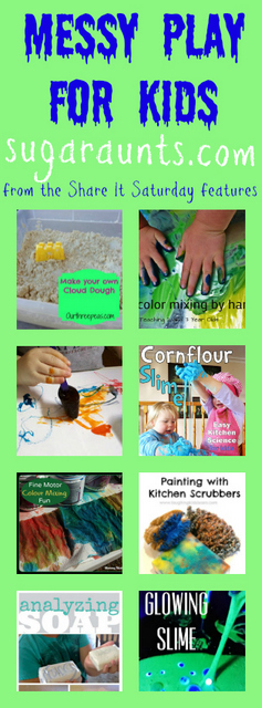 Kids will love these messy sensory play ideas that challenge the tactile sense and are fun!