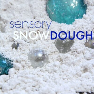 Frozen Snow Dough