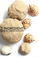 3 Ingredient Kinetic Sand Play Dough