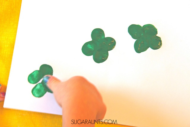 Shamrock Fingerprint art
