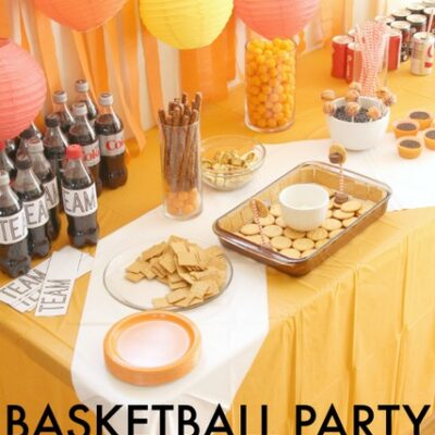 Basketball Theme Party Ideas