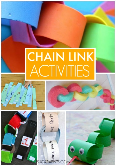 Chain Link Crafts And Activities For Kids The Ot Toolbox