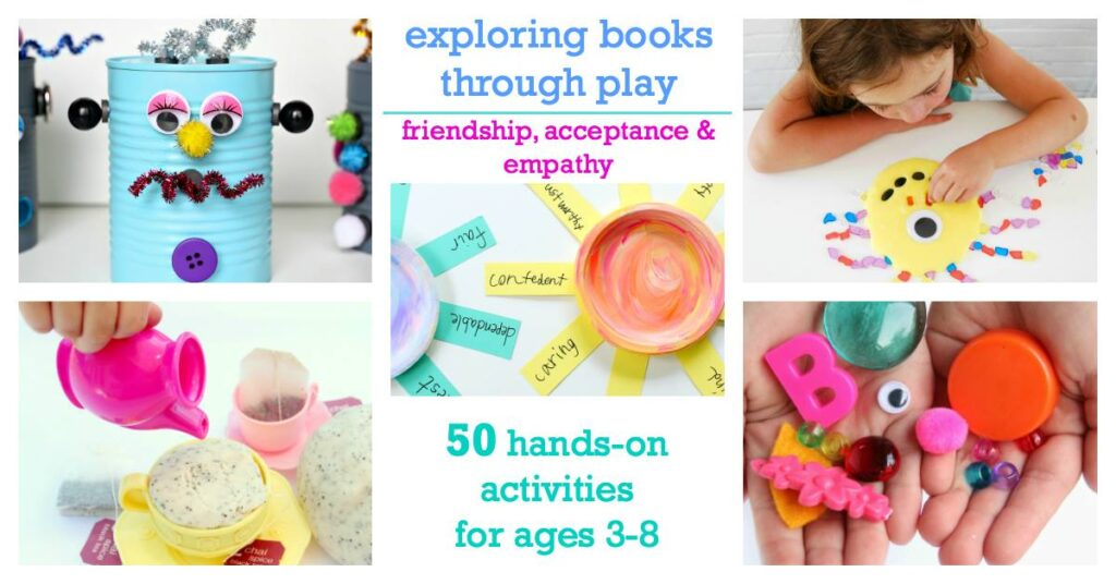 hands-on activities to explore social emotional development through children's books.
