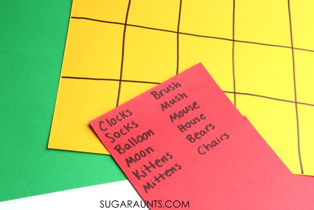 Margaret Wise Brown Book, Goodnight Moon activity for kids.