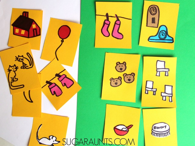 Play this Memory Game for kids with the classic preschool book by Margaret Wise Brown.