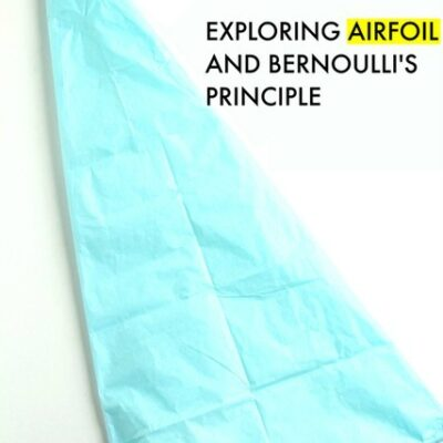 Bernoulli's Principle Tissue Paper Glider