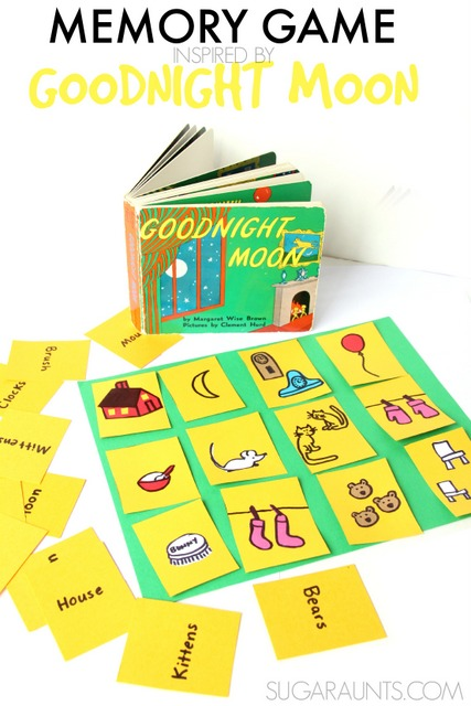 Memory Game based on the book Goodnight Moon