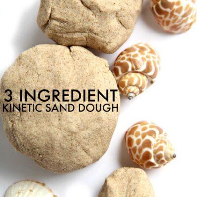 3 Ingredient Kinetic Sand Recipe