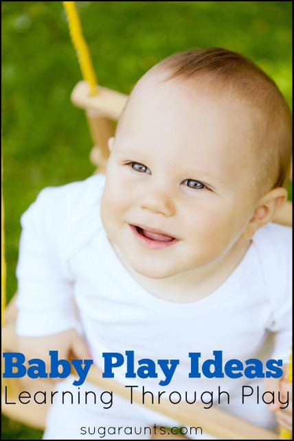 activities for babies. Learning through play for baby.