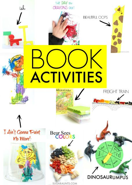 Book extension activities for kids