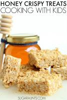 Honey Peanut Butter Crispy Treats